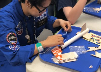 Building a Rocket at Space Camp