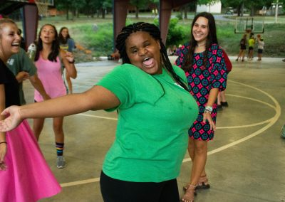 Dancing At Camp Barnabas