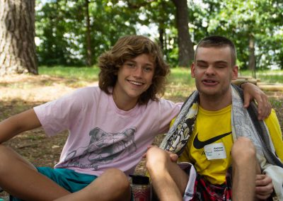 Relaxing at Camp Barnabas